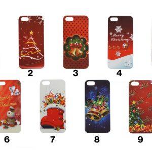 Alle 9 Varianter af julecovers til iPhone 5, 5S og SE