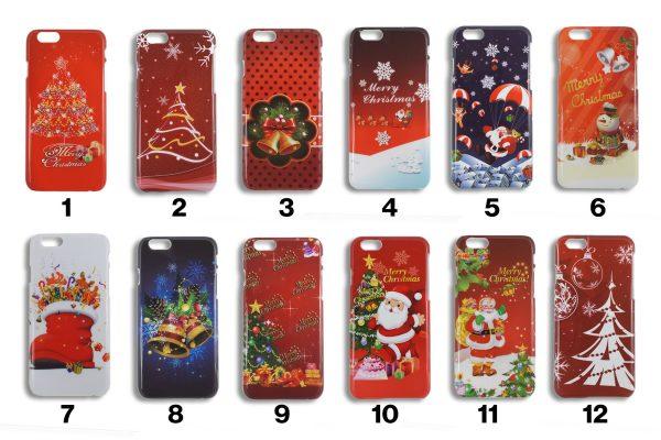 Alle 12 Varianter af vores julecovers til iPhone 6 og iPhone 6S