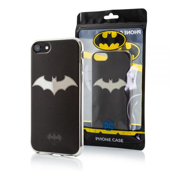 Batman Chrome Logo cover til iPhone 7, iPhone 8 og iPhone SE2
