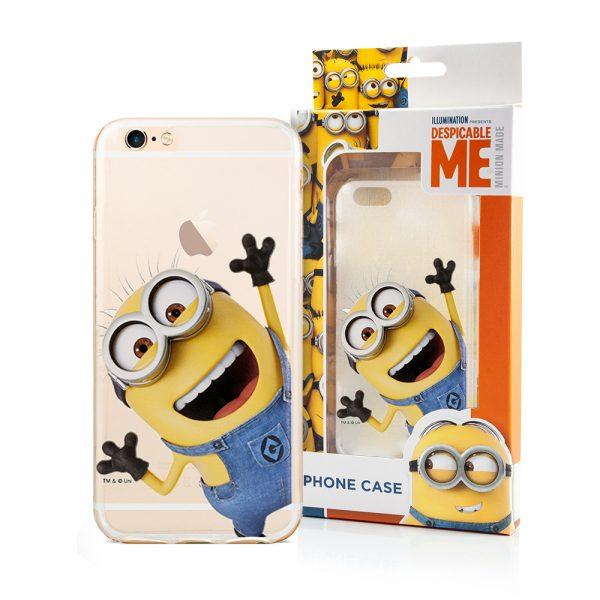 Minions cover til iPhone 6 og iPhone 6s i tyndt fleksible gummi