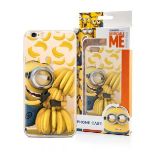 Minion med bananer cover til iPhone 6/6S