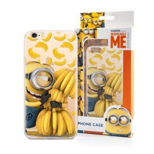 Minion med bananer cover til iPhone 6/6S