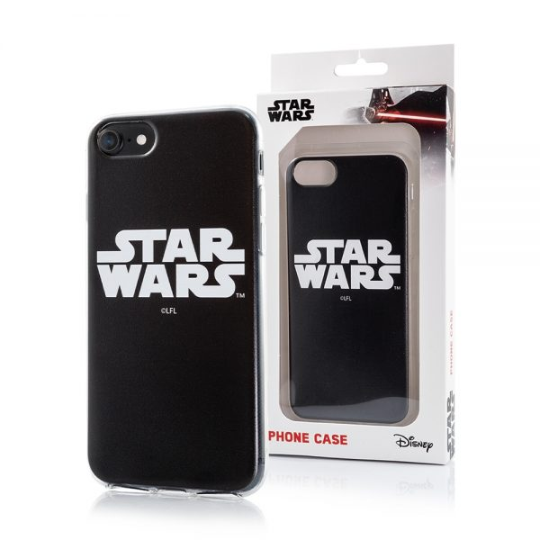 Star Wars cover til iPhone 7/8/SE20 Sort baggrund