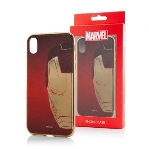 Iron Man Chrome Cover til iPhone X og iPhone XS