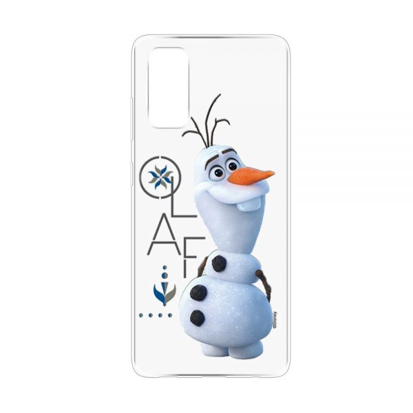Olaf fra Frozen cover til Samsung S20FE