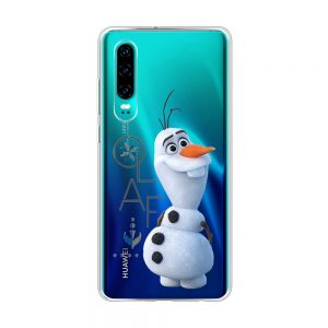Olaf cover fra Frozen til Huawei telefoner