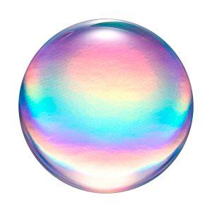 Rainbow Orb Gloss PopSocket 99kr - OneRepair