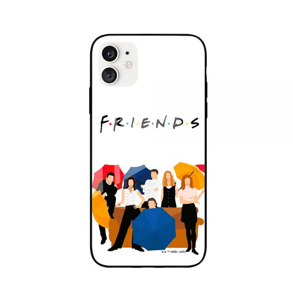 """Cover til iPhone med motiv fra TV serien """"Venner"""" - 149kr"""