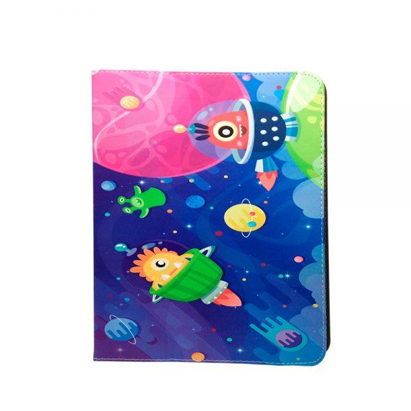 """Cosmos med rumvæsner Tablet cover til tablets med en størrelse på 9"""" til 10"""""""