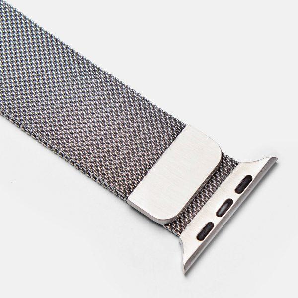 Apple Watch Milanese Loop urrem sølv